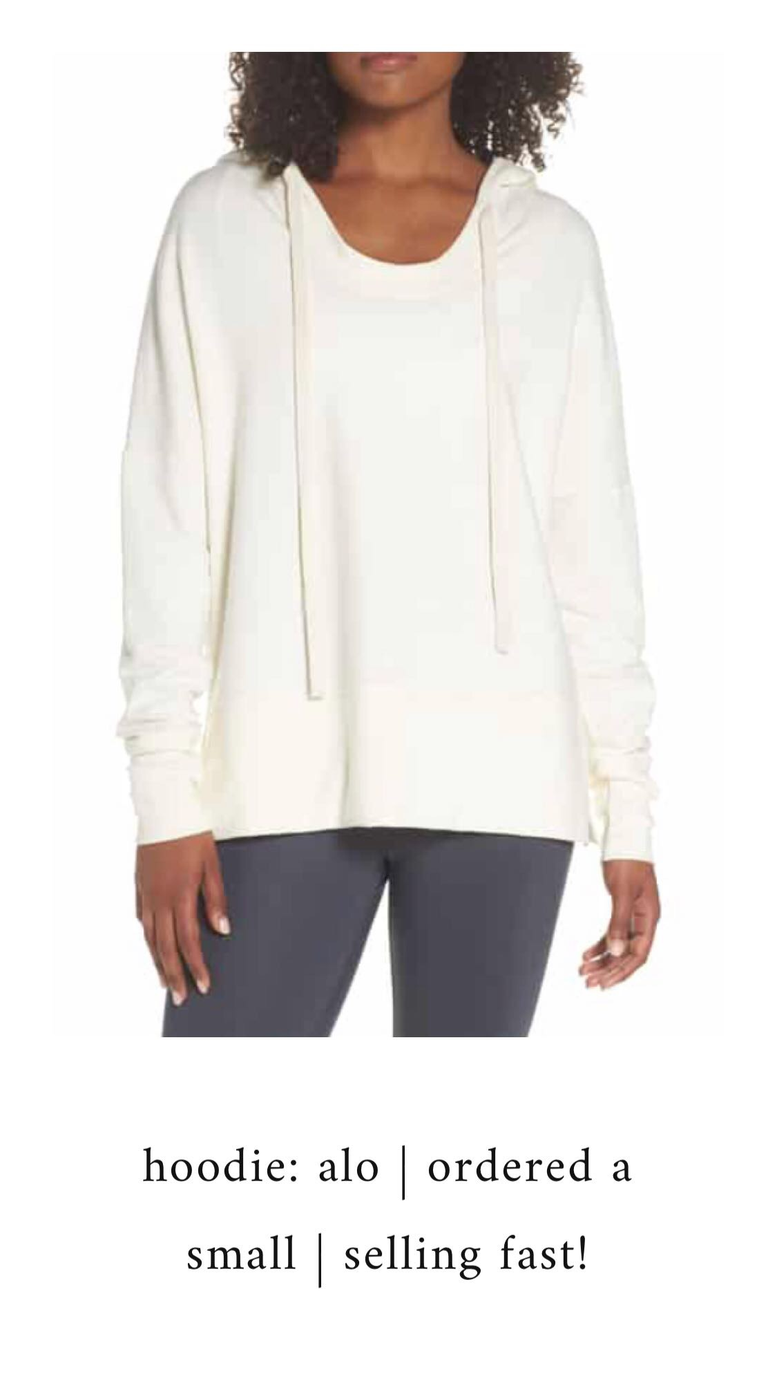 Nordstrom Anniversary Sale 2018: What I Purchased | Pine Barren Beauty | alo yoga pullover, soft sweatshirt