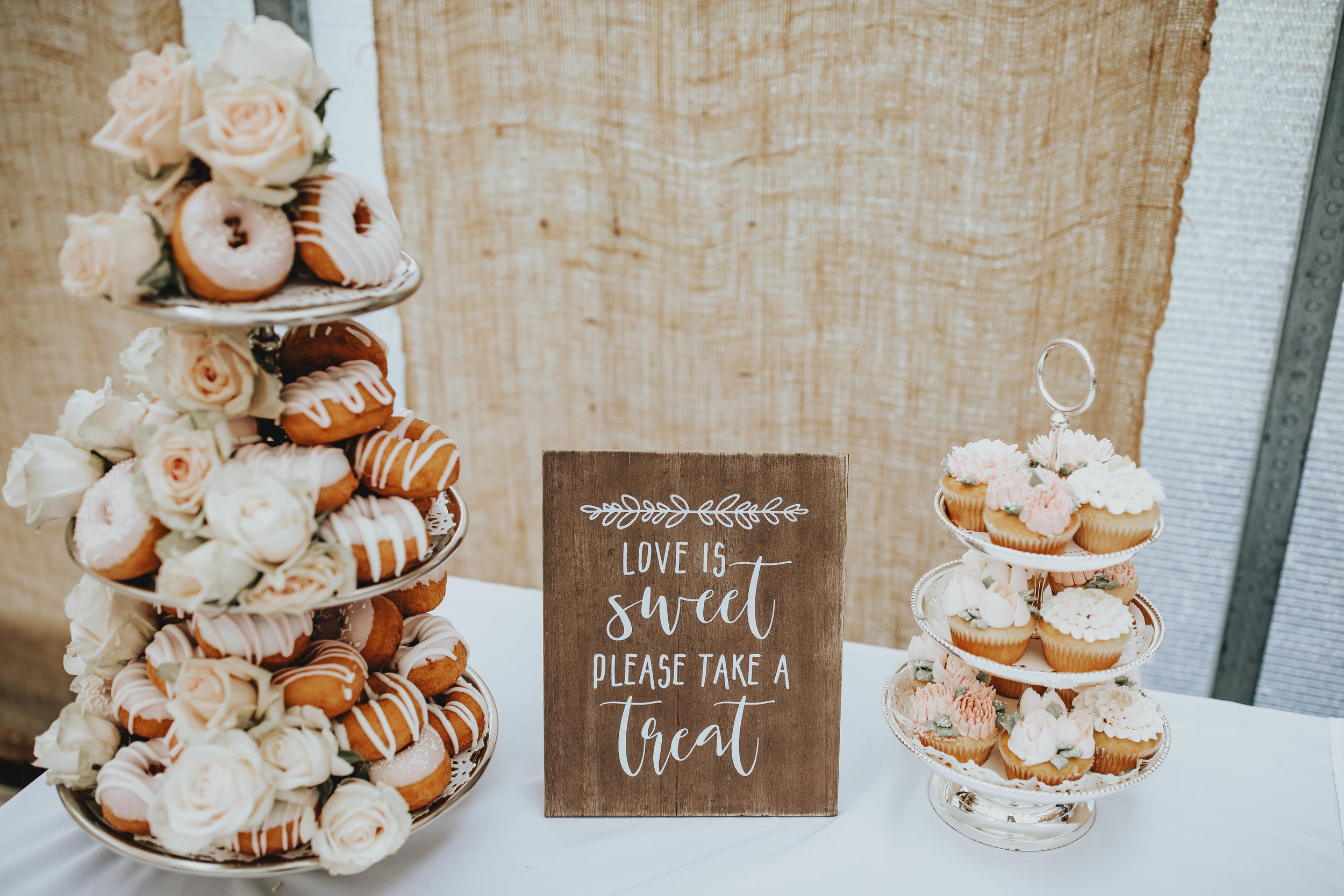 Bridal Shower Recap | Pine Barren Beauty | boho bridal shower, whimsical bridal shower,  boho bridal shower details, pink glazed donuts, bridal shower dessert table ideas