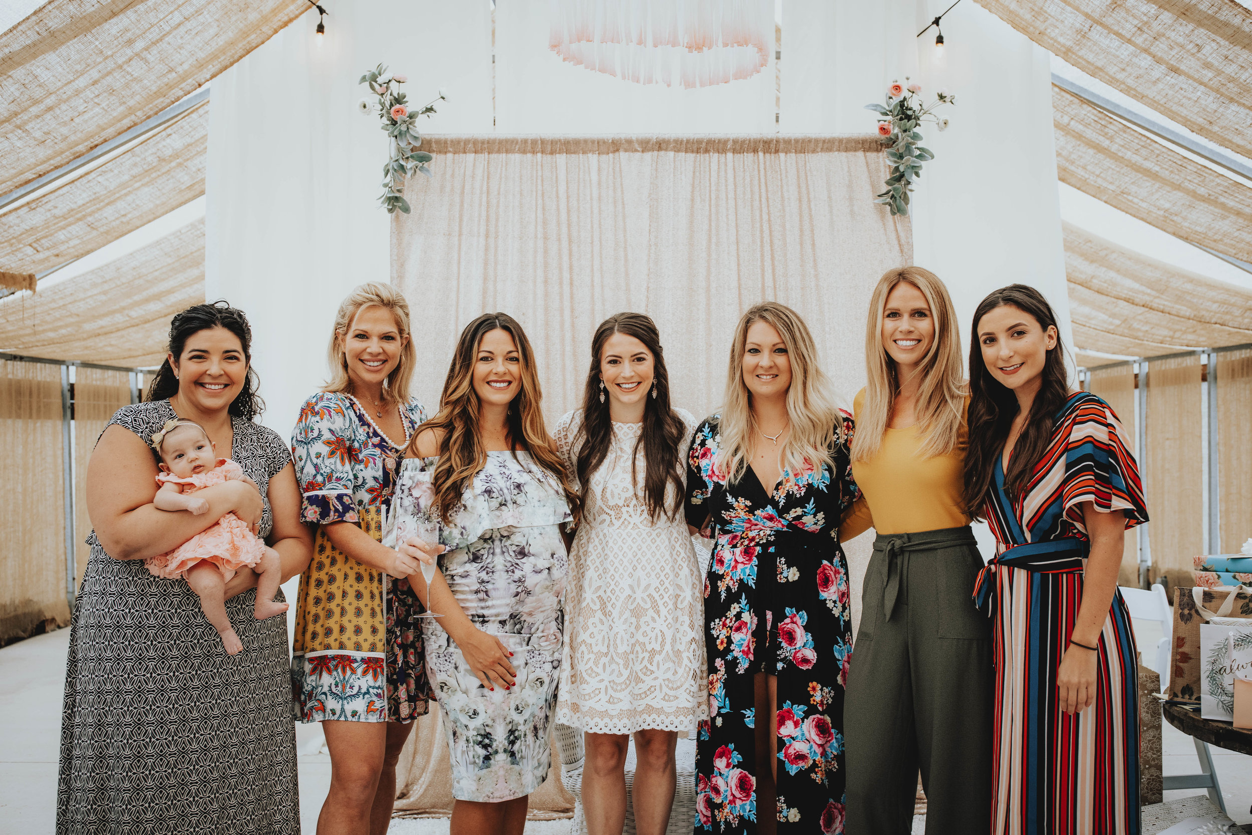 Bridal Shower Recap | Pine Barren Beauty | boho bridal shower, whimsical bridal shower