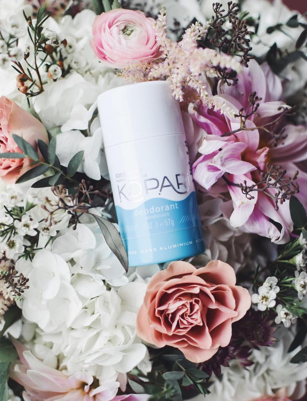 The Natural Deodorant I've Been Loving | Pine Barren Beauty | kopari coconut deodorant