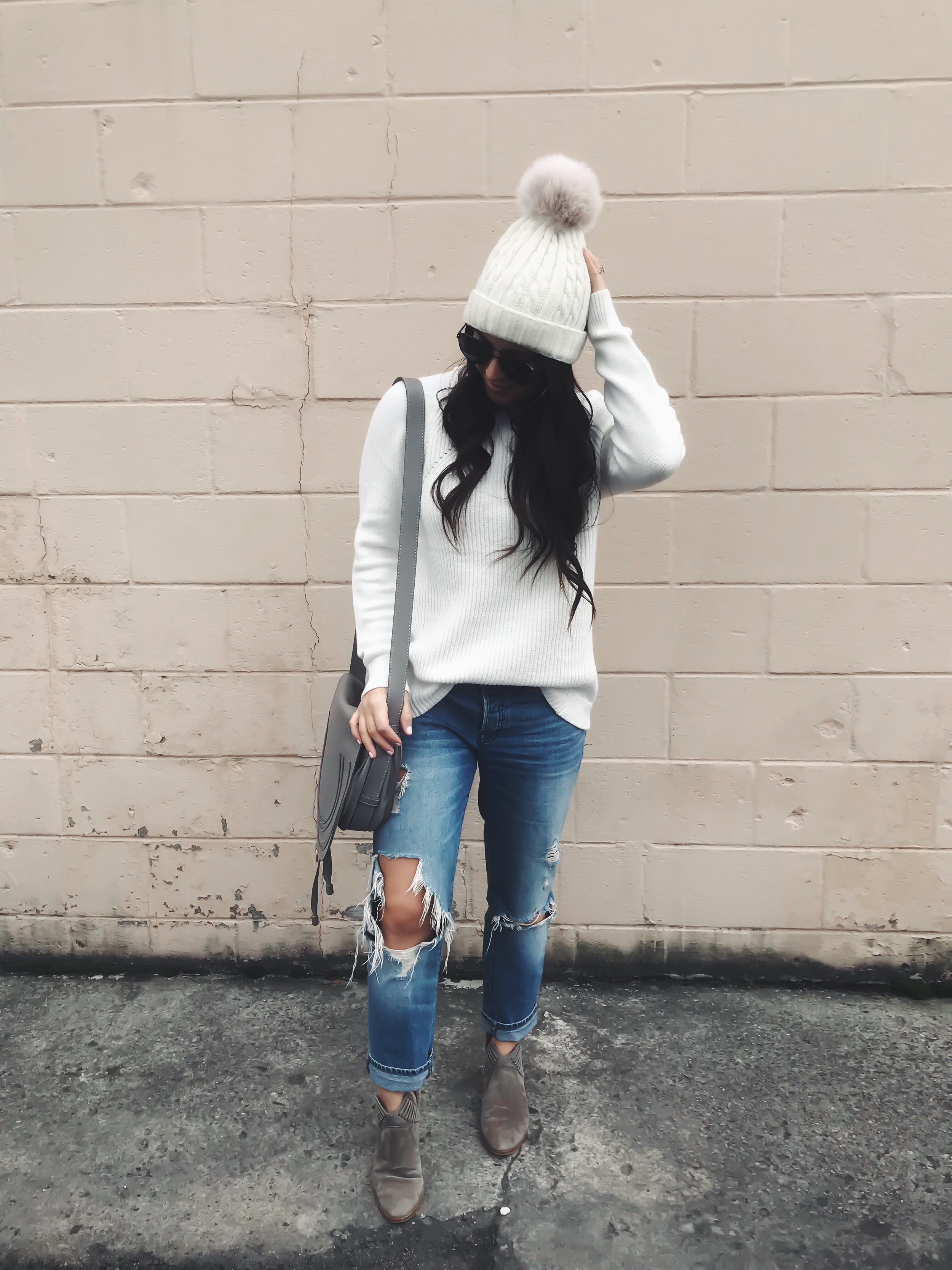 The Best Black Friday Sales of 2018 | Pine Barren Beauty | loft sweater, Abercrombie distressed boyfriend jeans, Vince camuto booties