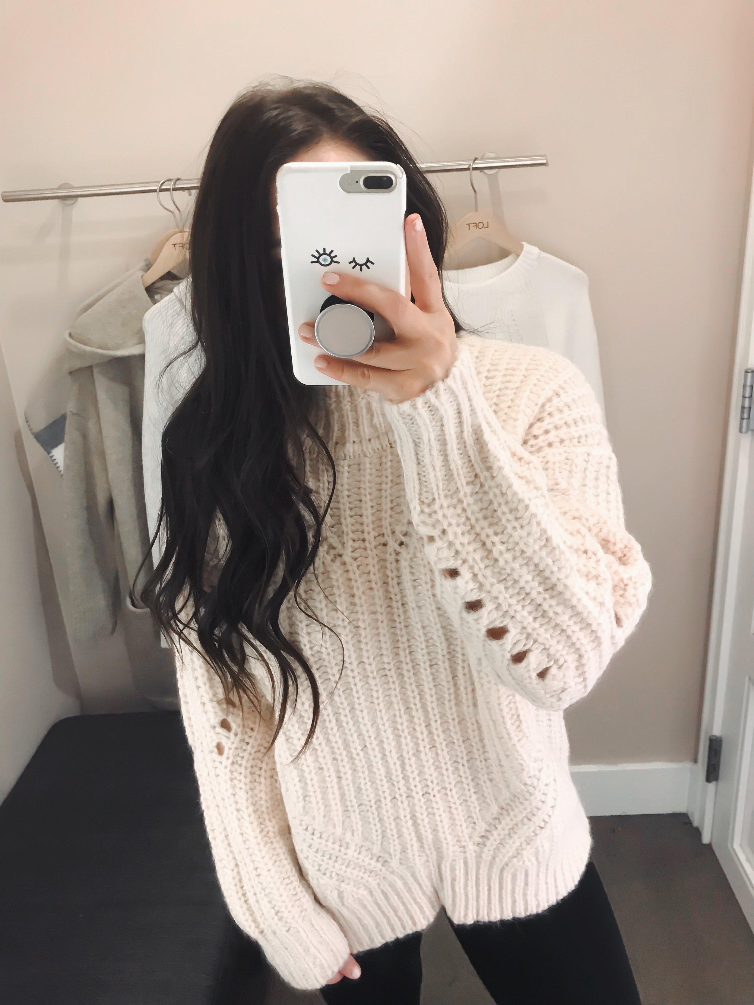The Best Black Friday Sales of 2018 | Pine Barren Beauty | loft sale, loft try on, cozy sweater