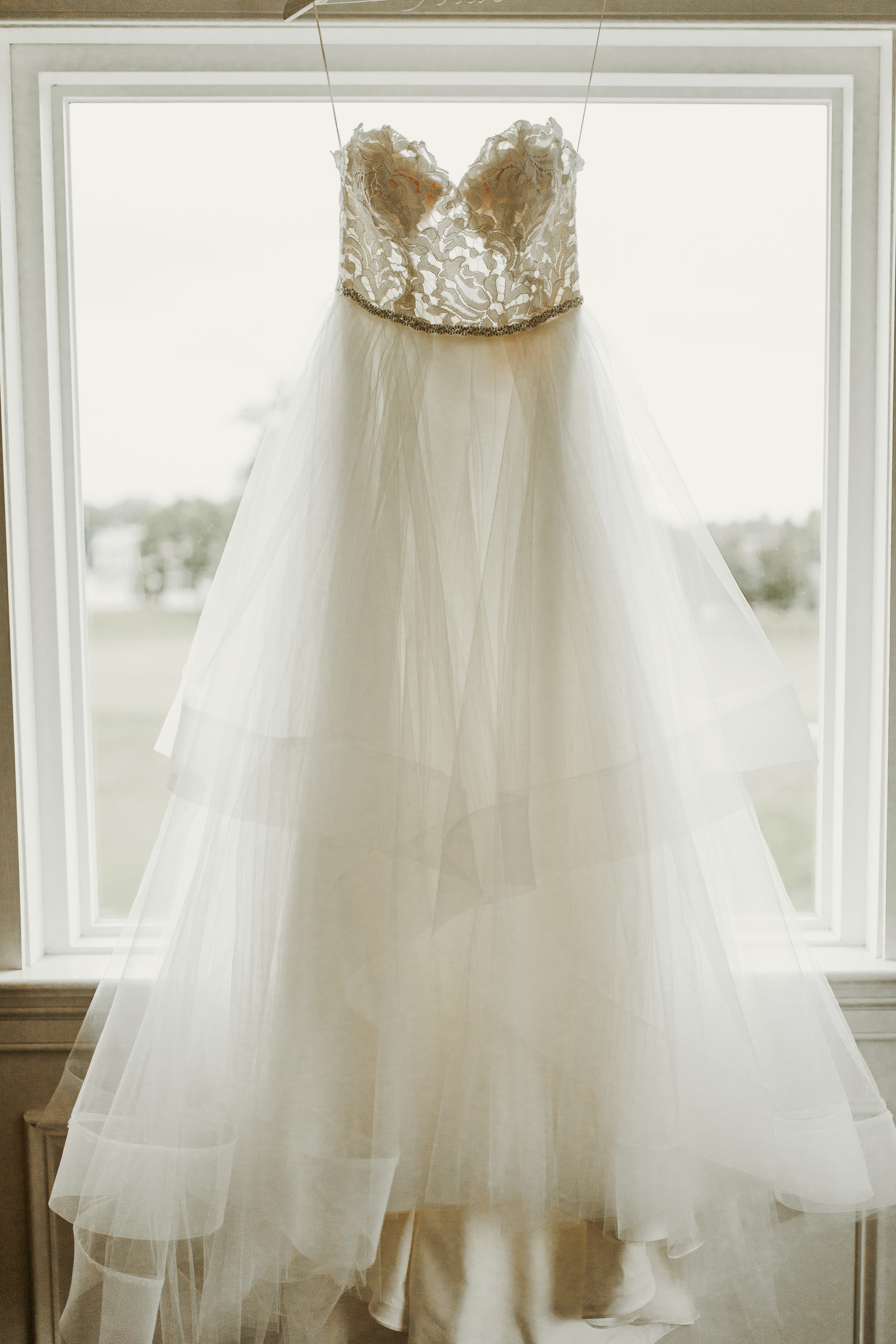 Wedding Gown: Hayley Paige    Castle Couture