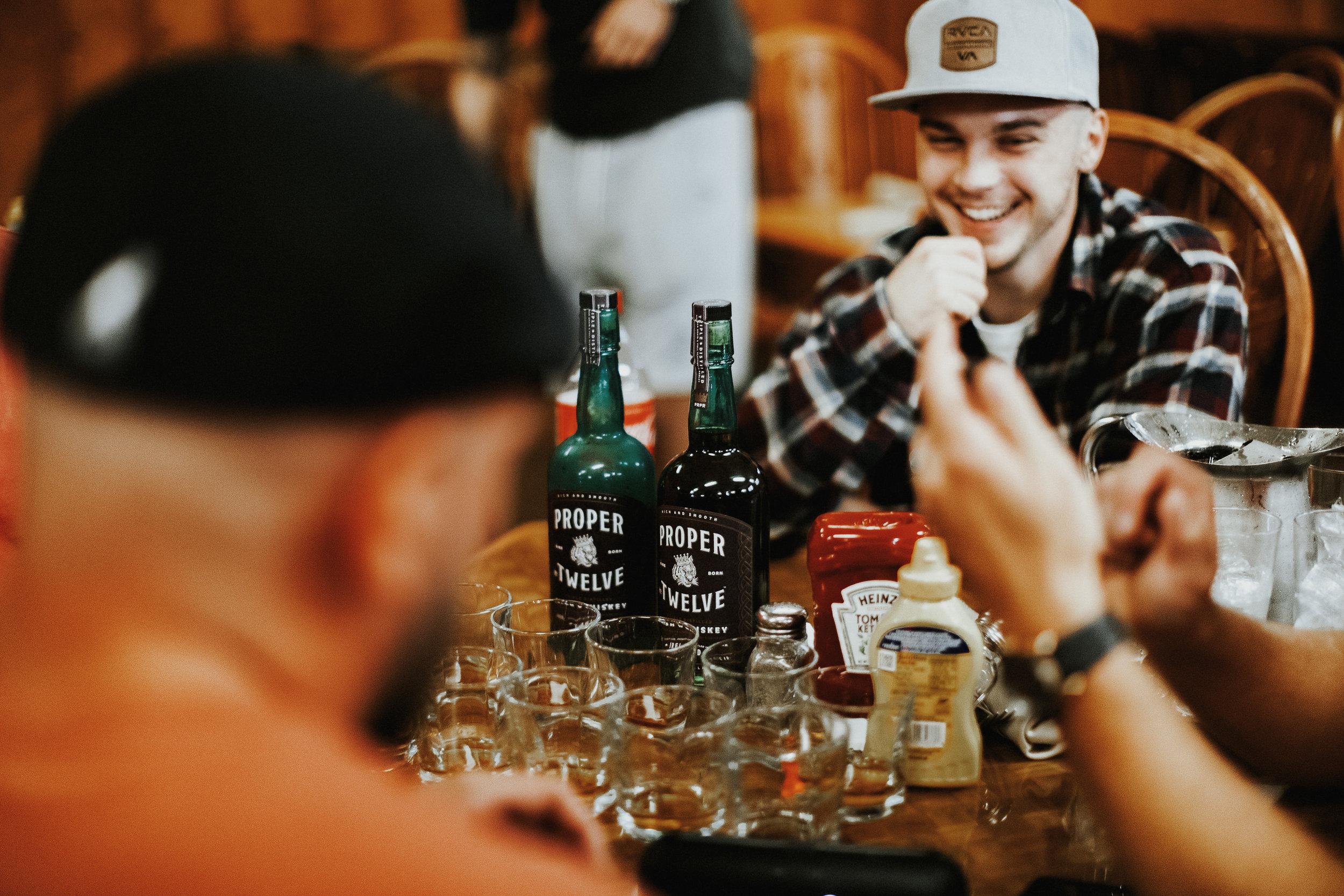 shots on shots, they love proper twelve