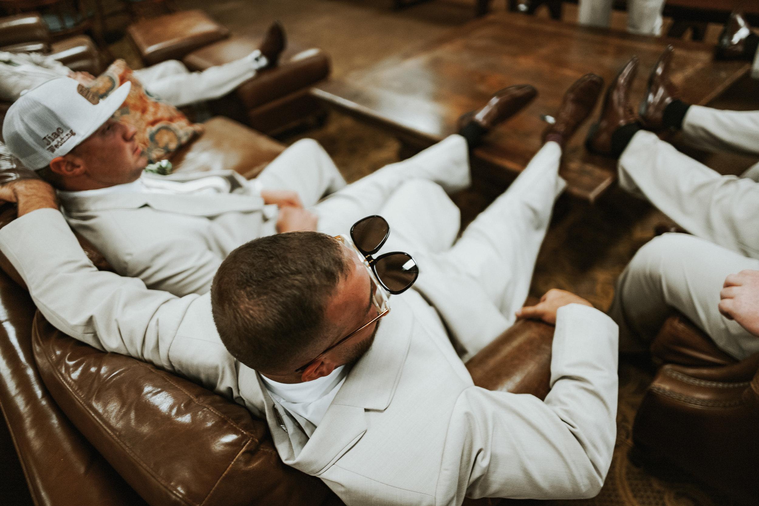 Our Wedding Photos: Part I   Pine Barren Beauty   groom prep wedding photos