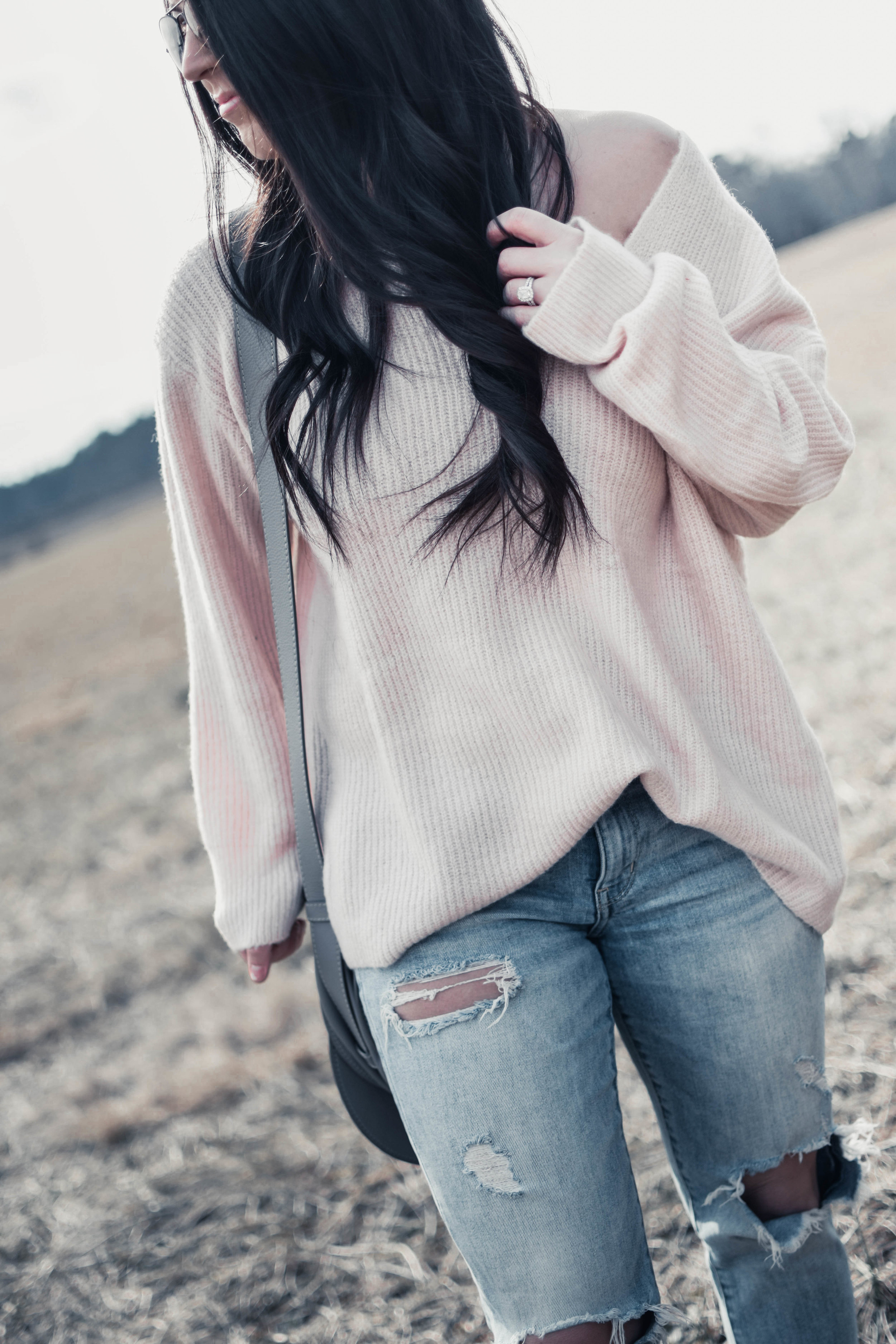 Blush Sweater for Valentine's Day | Pine Barren Beauty