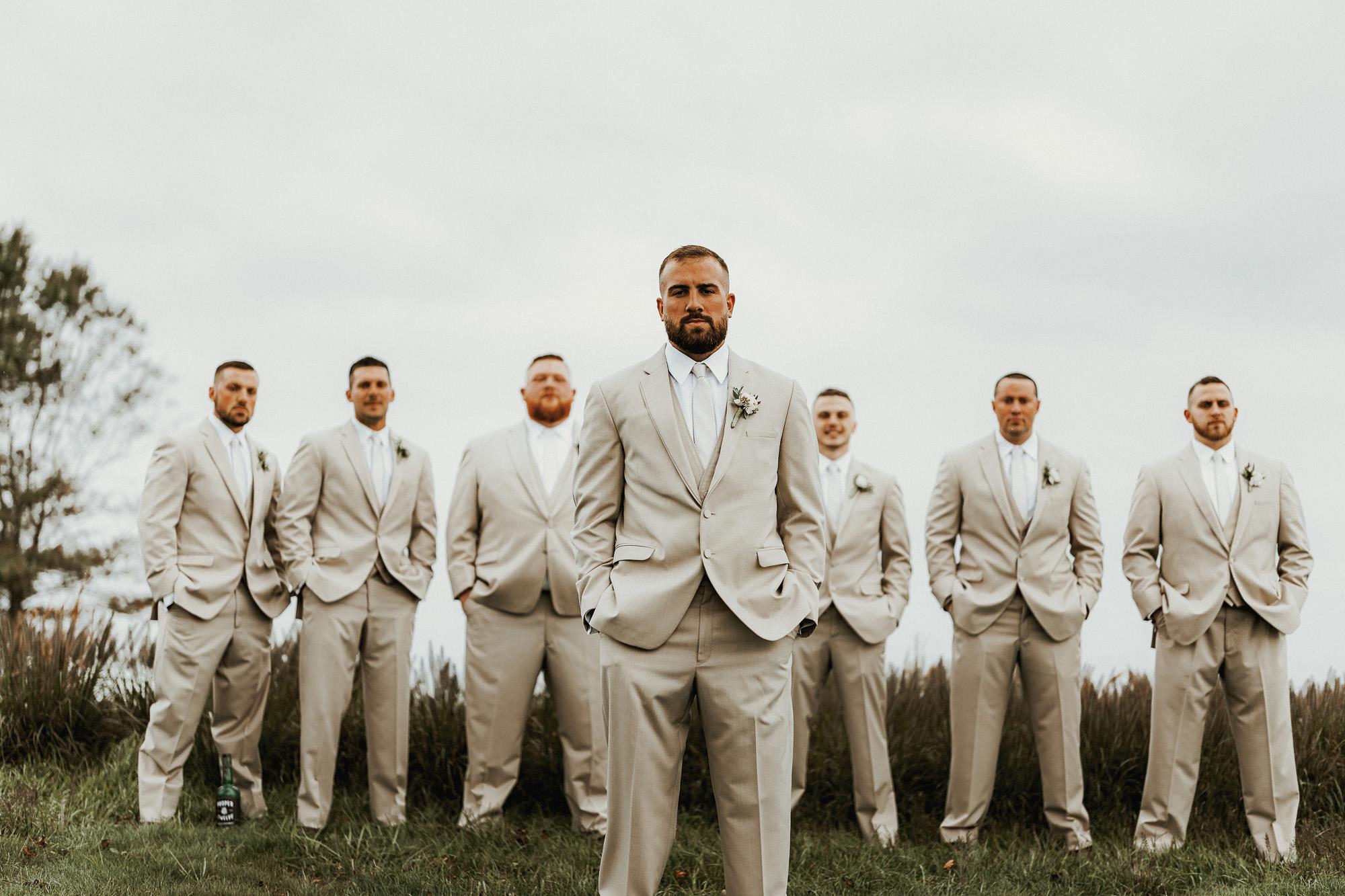 Our Wedding Photos | Pine Barren Beauty | wedding photo inspiration, bridal party colors, bridal party photos