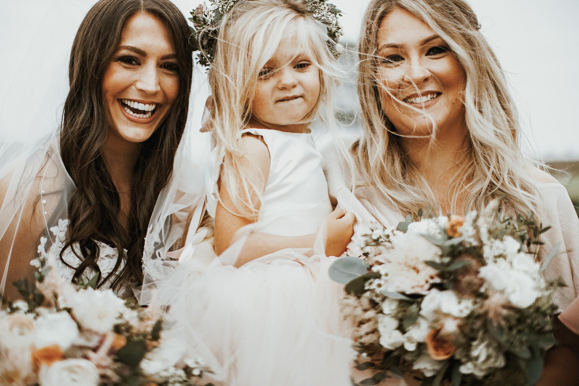 Our Wedding Photos | Pine Barren Beauty | wedding photo inspiration, bridal party colors, blush bridesmaids dresses, bridal party photos, flower girl dress