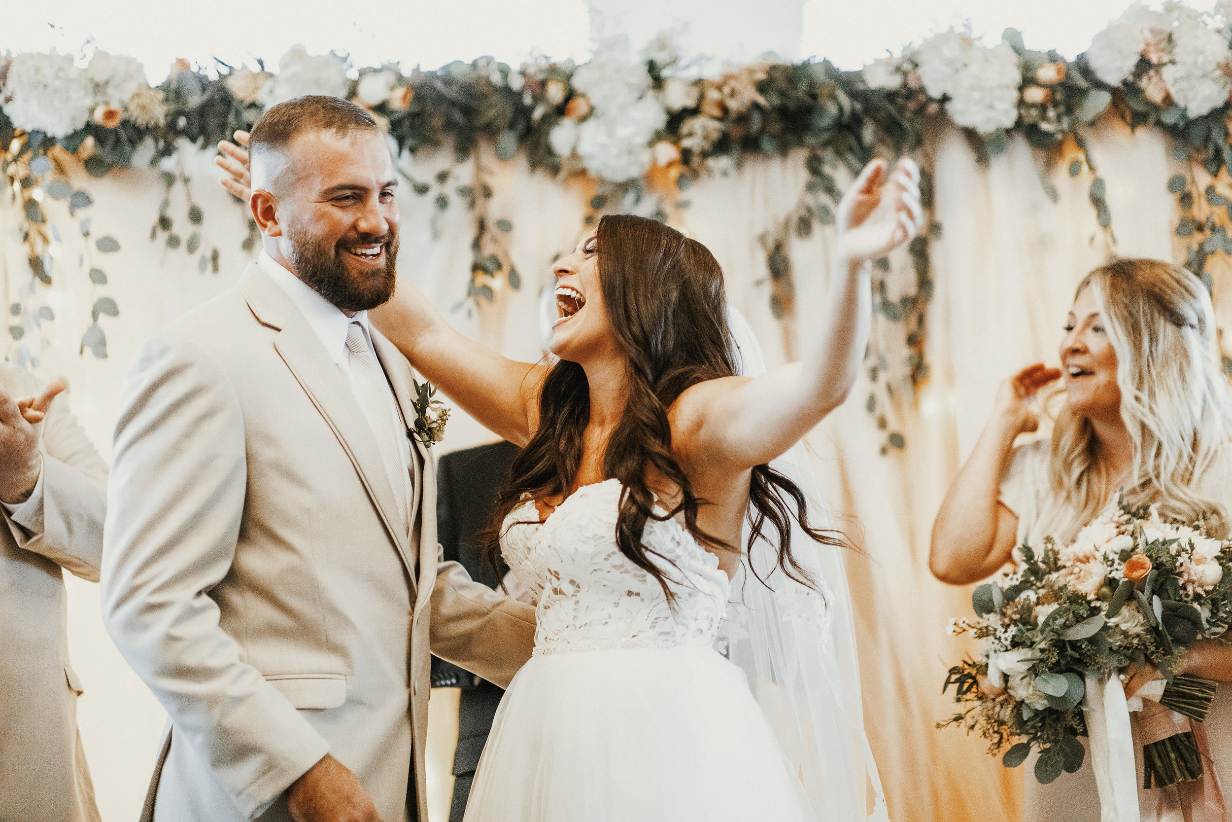 Our Wedding Photos | Pine Barren Beauty | wedding photo inspiration, wedding ceremony photos