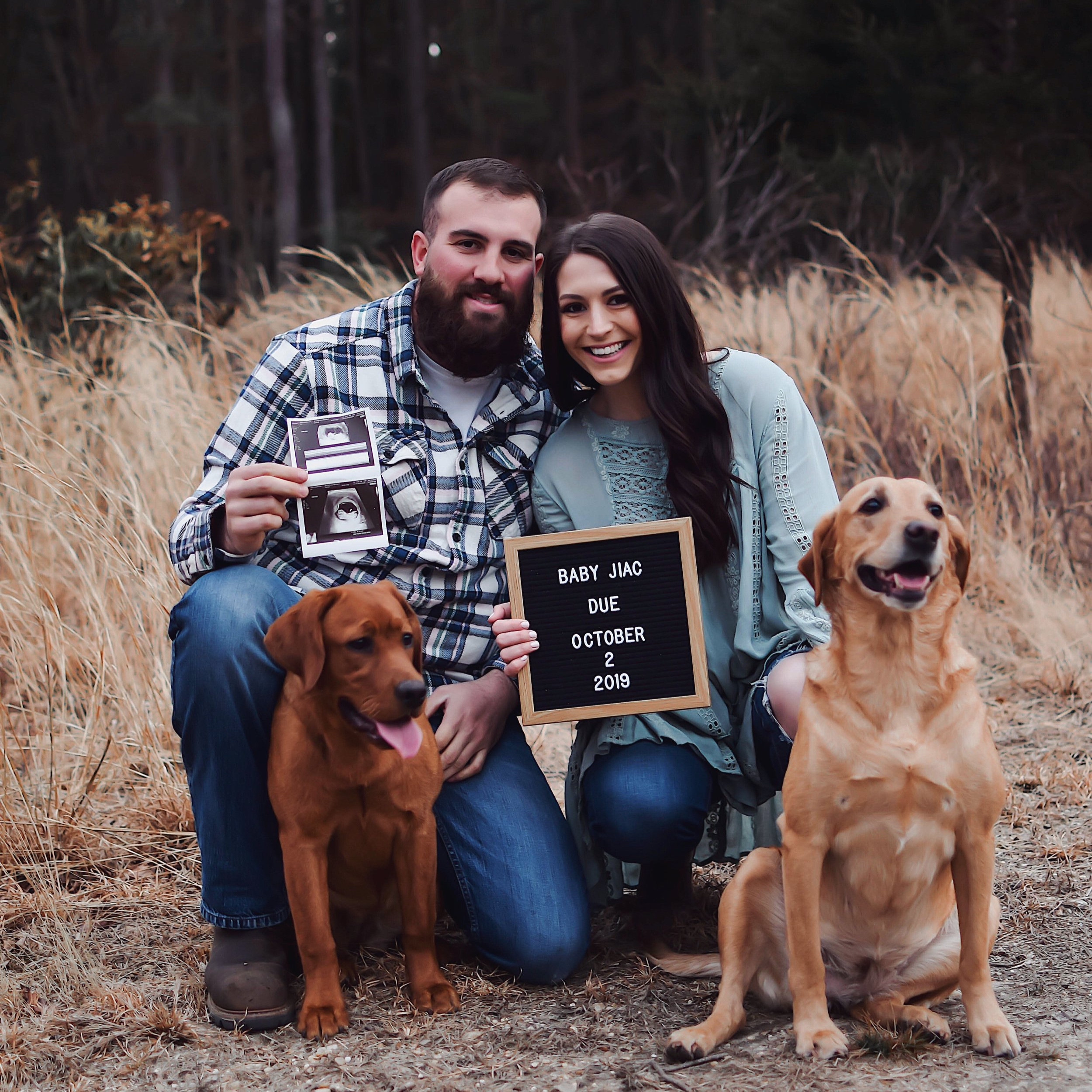 We're Expecting! | Pine Barren Beauty | pregnancy announcement, pregnancy announcement photos