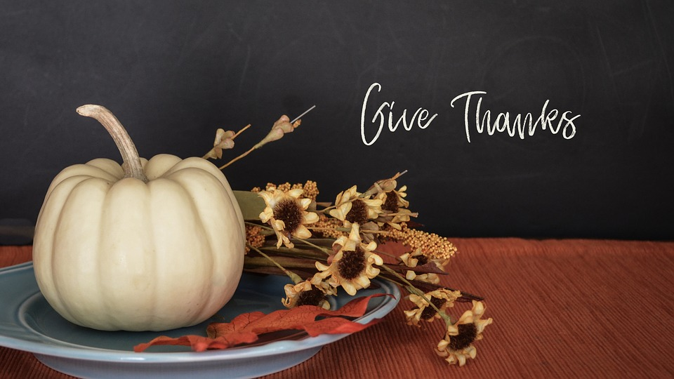 Can we get back to the original reason behind thanksgiving...to say thank you for the blessings in our lives!