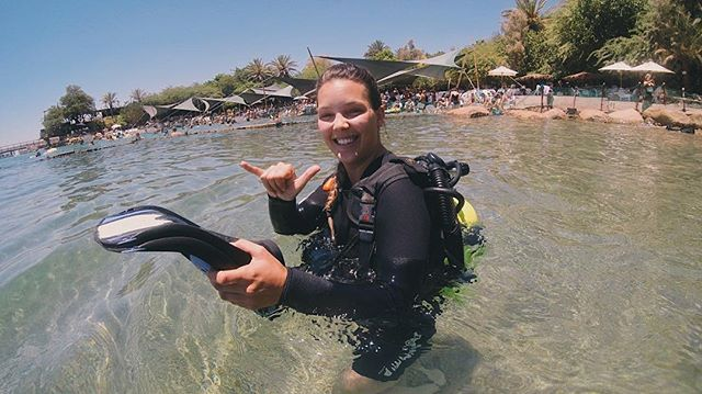 WHERE I'D RATHER BE • definitely would prefer to be scuba diving in israel than trying to decide how I feel about last nights game of thrones episode 😂 ✦ #GypsetJessie #Travel #Wanderlust #Adventure #Aloha #Israel #Eilat #DolphinReef #ScubaDiving #Summer