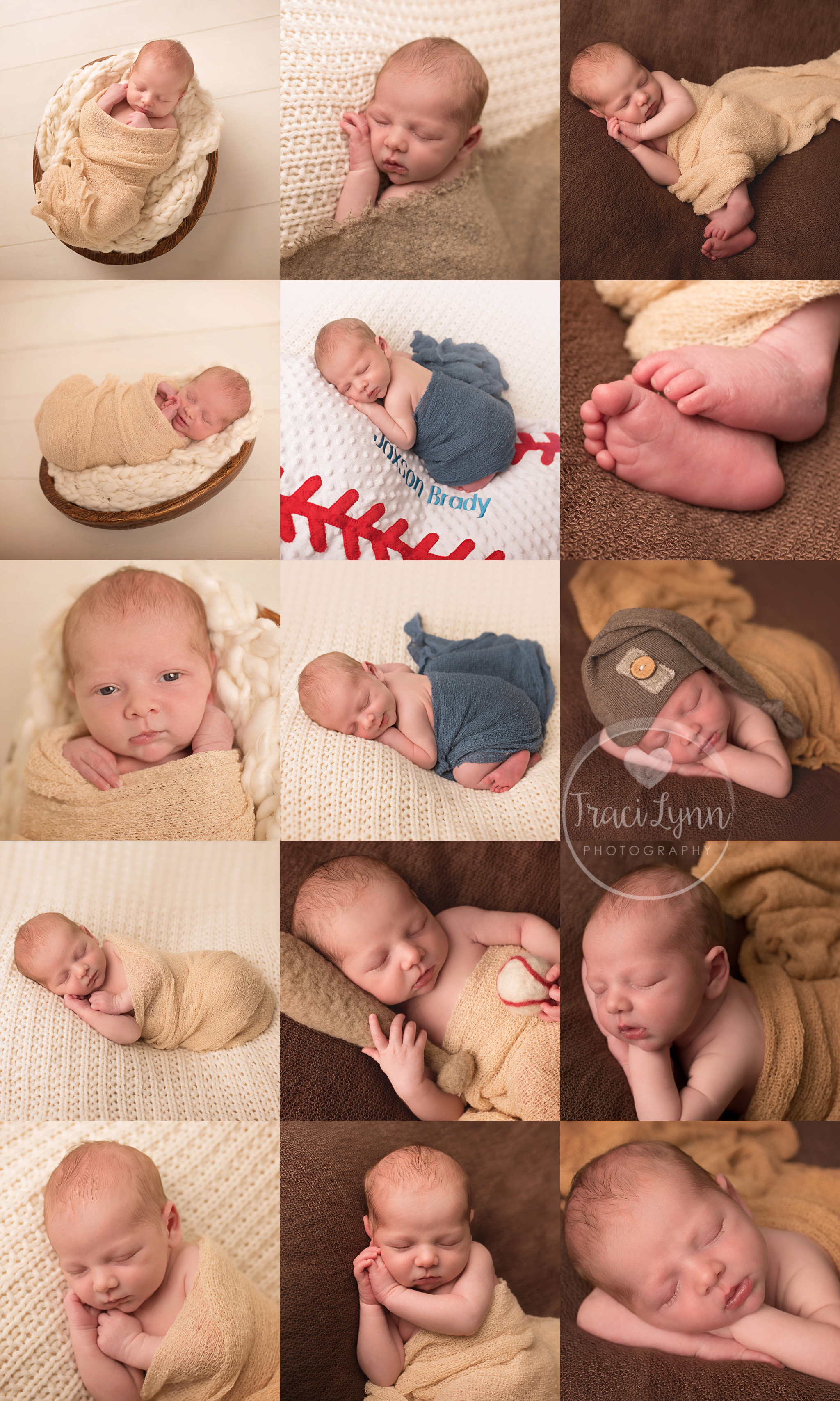 Go to TraciLynnPhotography.com/newborn to start planning your baby's session today!