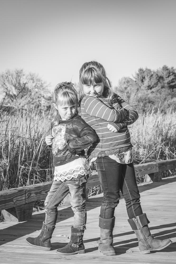 Family Sisters Lake Villa IL Hastings Forest Preserve