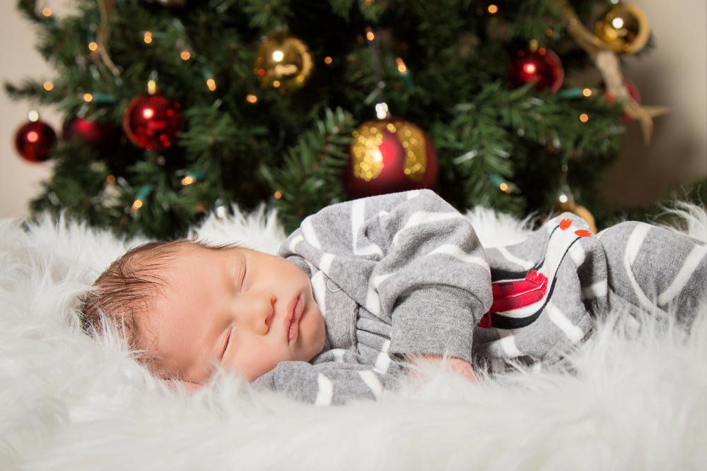 Christmas Newborn Baby Boy