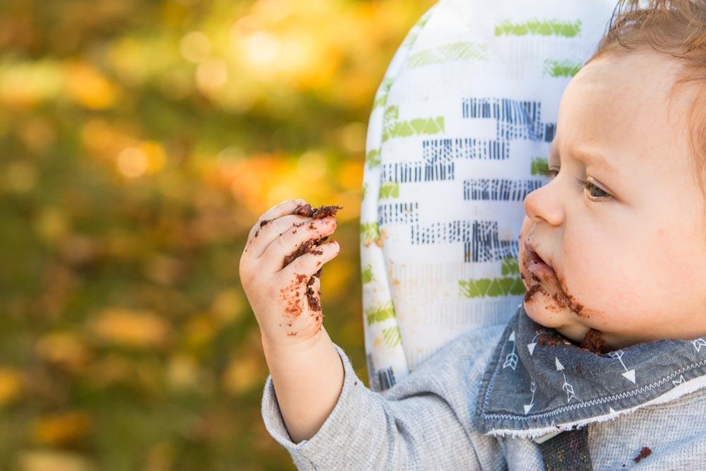 One Year Baby Boy Cake Smash