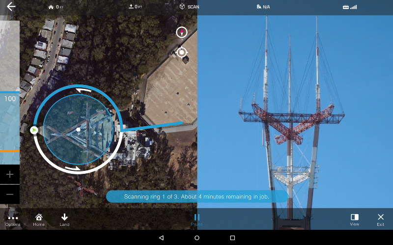 3DR's Site Scan is an amazing tool to develop 3D mapping of detailed structures.