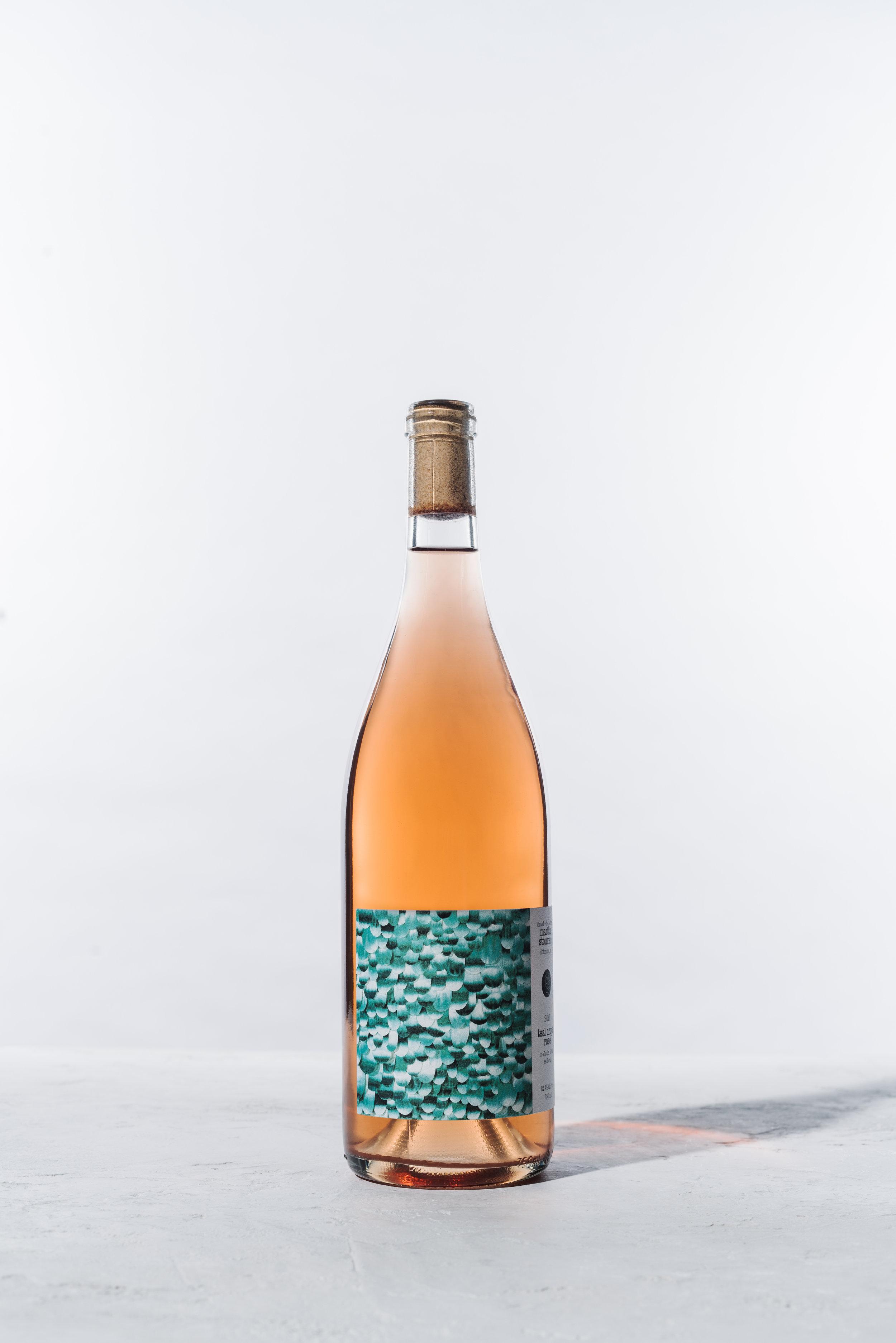 2017 Teal Drops Rosé   $32