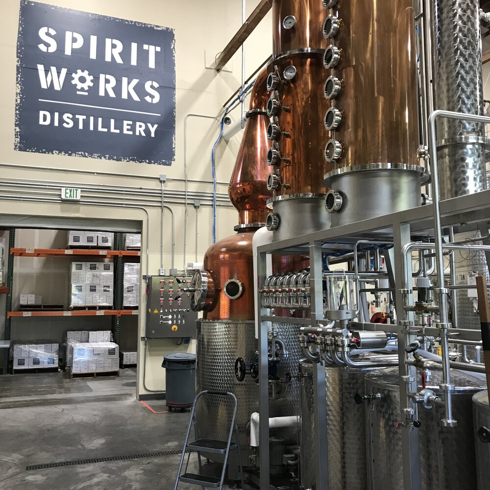 the making of diluvio_collaboration with spirit works distillery