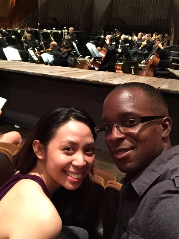 At the NY Philharmonic