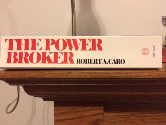 Still haven't read it. Book hasn't gotten any smaller.