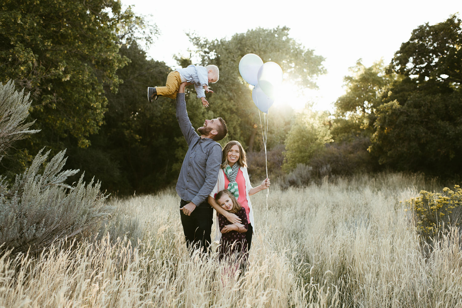 The Huizenga's, taken in October, as we celebrated the announcement of their 3rd child.