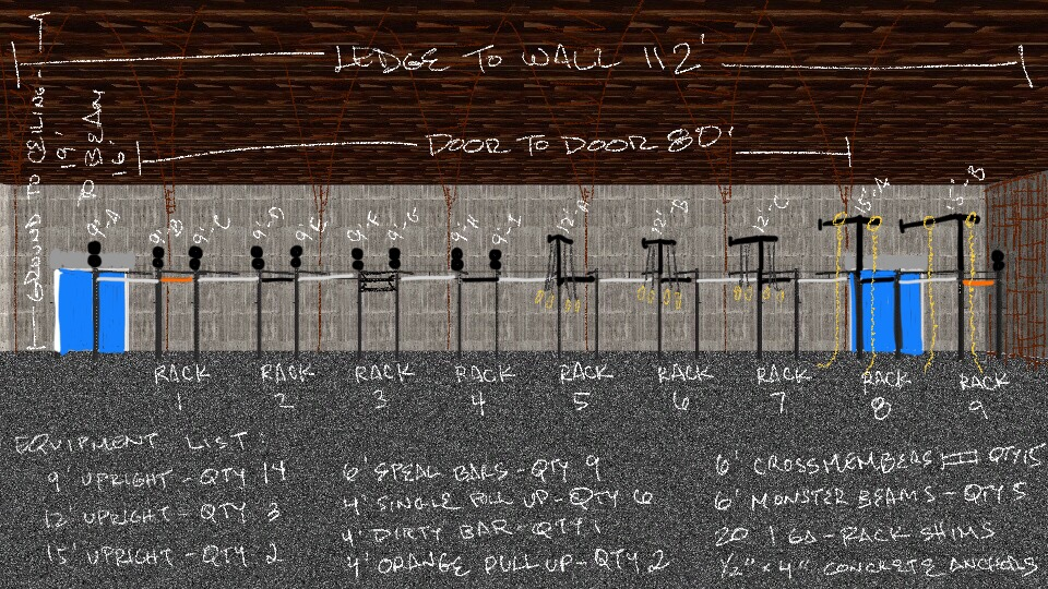 The blueprint for our 94' rig build. We're about to build the Classiest rig ever in the history of Classy rigs.