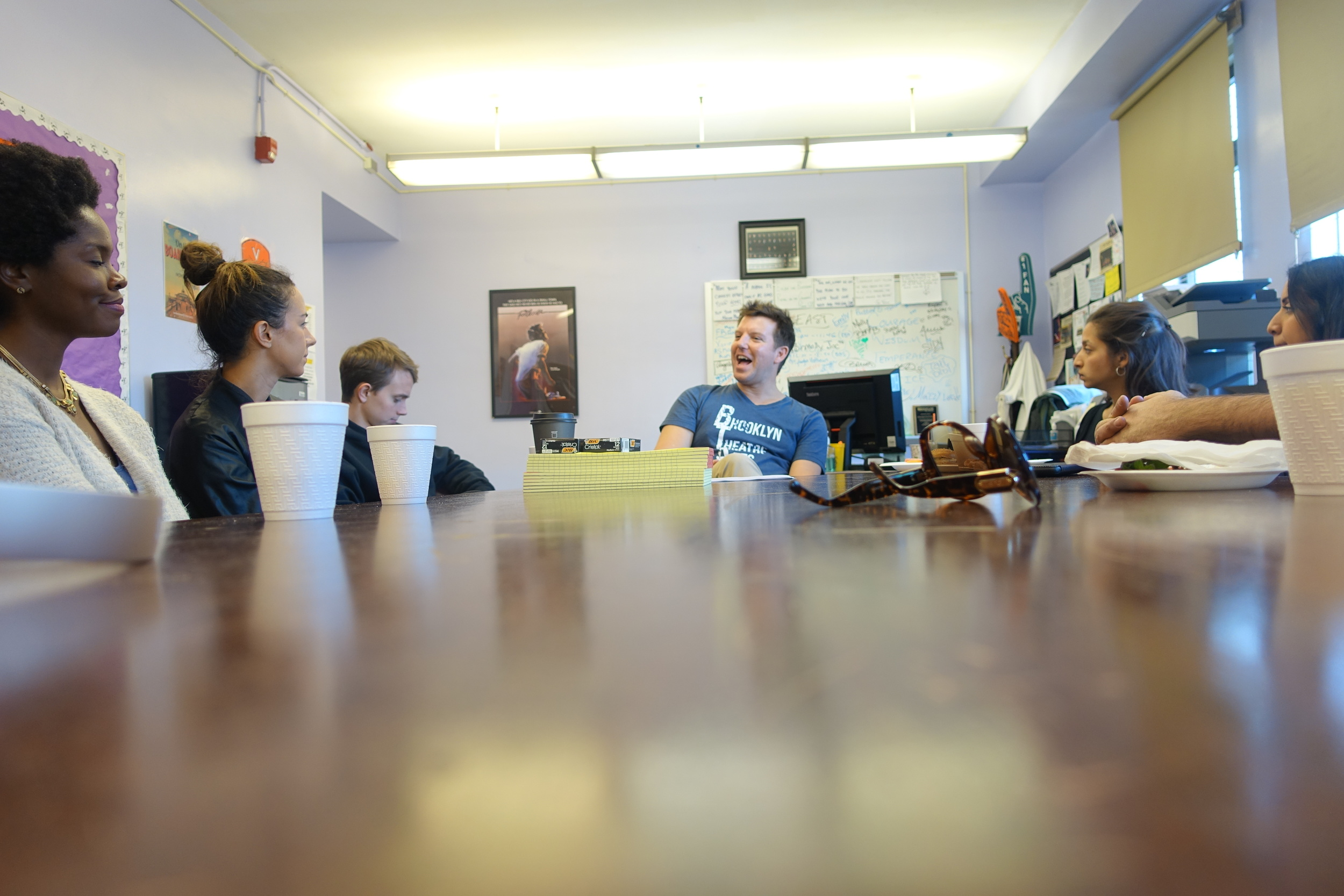 Back in the Principals office, we engaged with David in a discussion on the goals of the school. While the students we had met met exuded self-confidence, Mr. Ward made clear engaging and inspiring students is still a challenge.