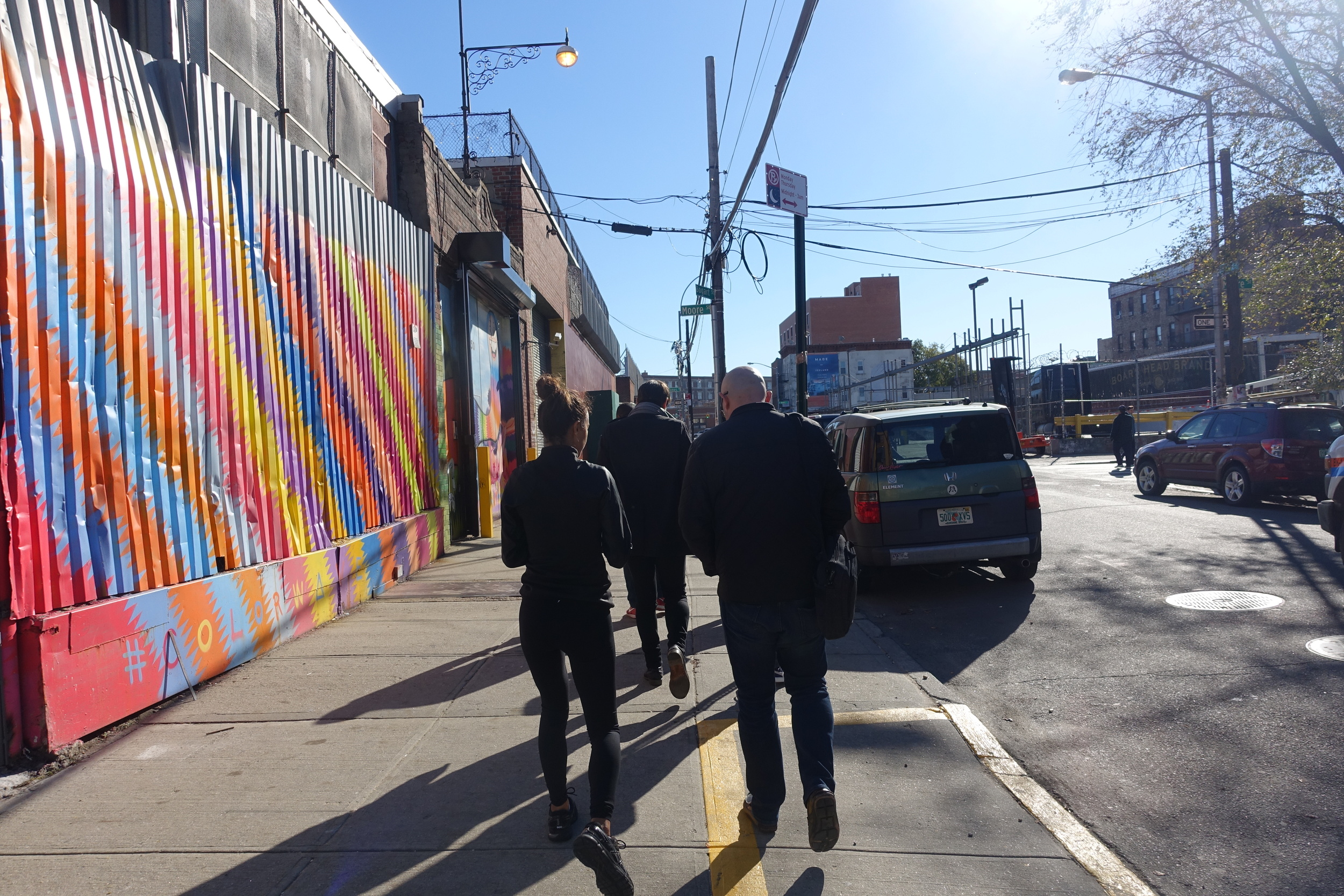 As we wrapped an enlightening day at BTA, Mr. Ward rejoined his students in the hallways as classes changed once more. For us, we were already playing hookie so it was now time for us to head to Roberta's in Bushwick for a proper pizza feast.