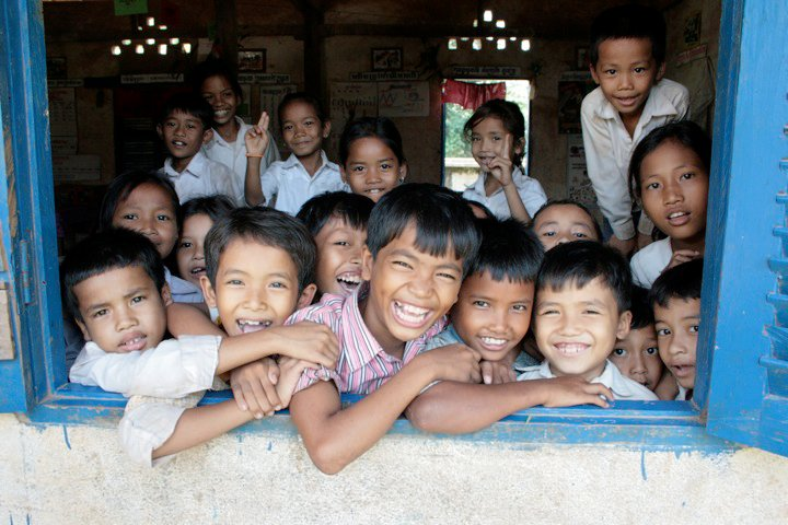 A photo from Allie's time with the Cambodian Children's Fund