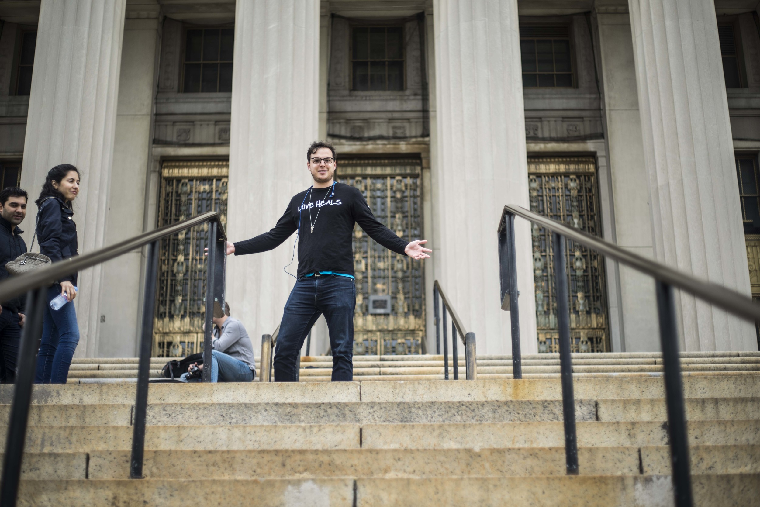 Breakout co-founder Michael Farber led the charge. The group convened at the seat of power in the Bronx, the County Clerk Office at 161st Street and Grand Concourse.