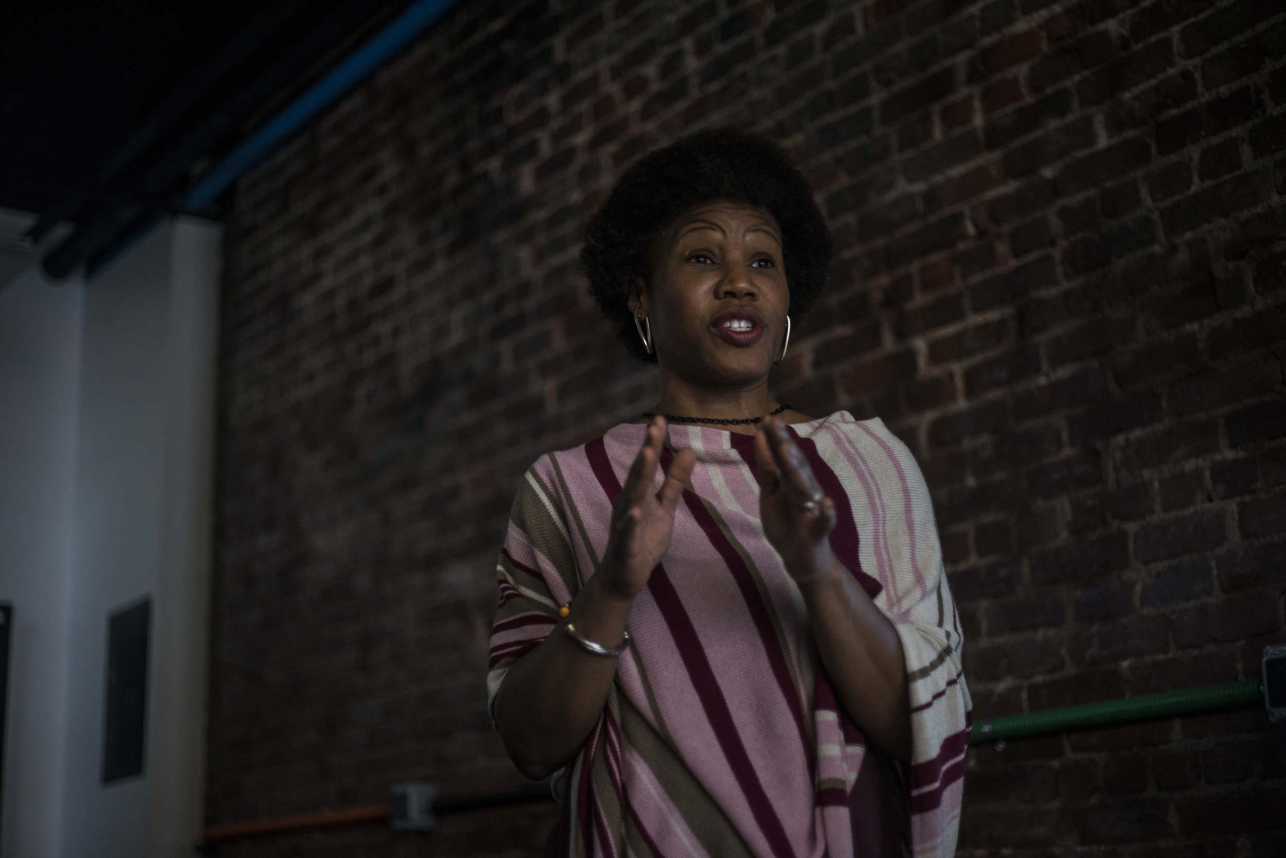 """A Hunts Point native, Majora first gained critical acclaim for her 2006 TED Talk, """" Greening the Ghetto .""""She later turned her direction to urban economic development to help African American's move out of poverty while creating an ecosystem to stop brain drain."""