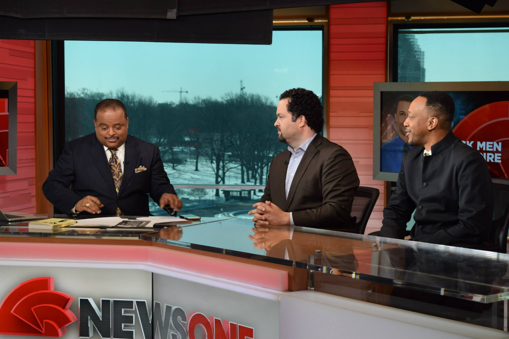 Trabian with Ben Jealous, former head of the NAACP