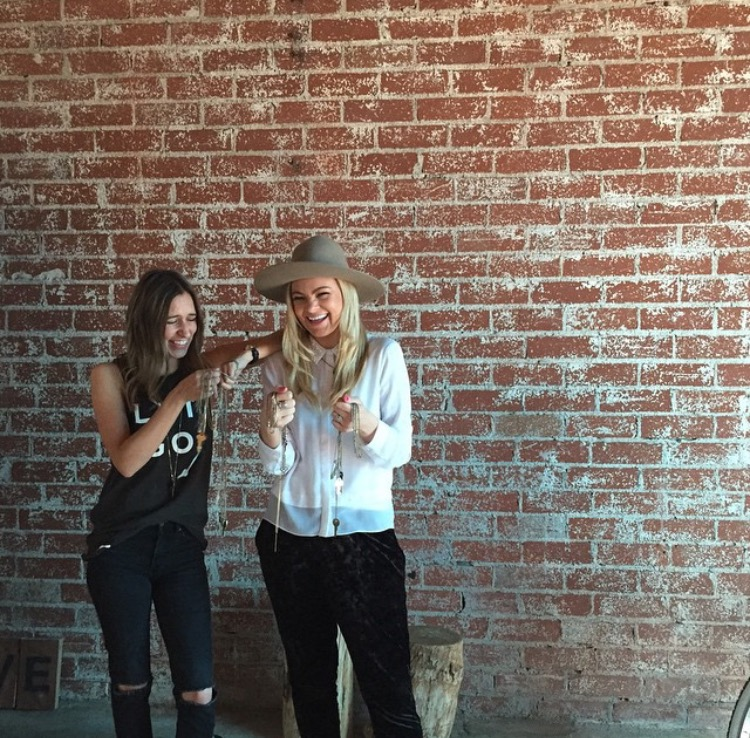Brit and Giving Keys Founder Caitlin Crosby