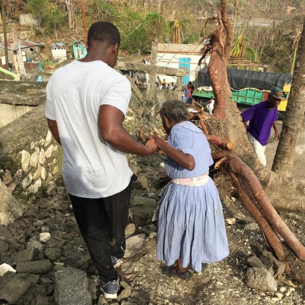 Jim in Haiti
