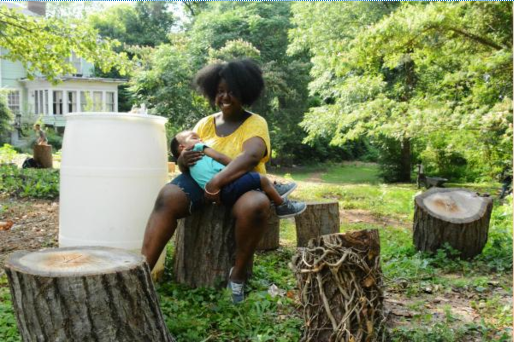 Abby teaches formerly incarcerated young people how to farm.
