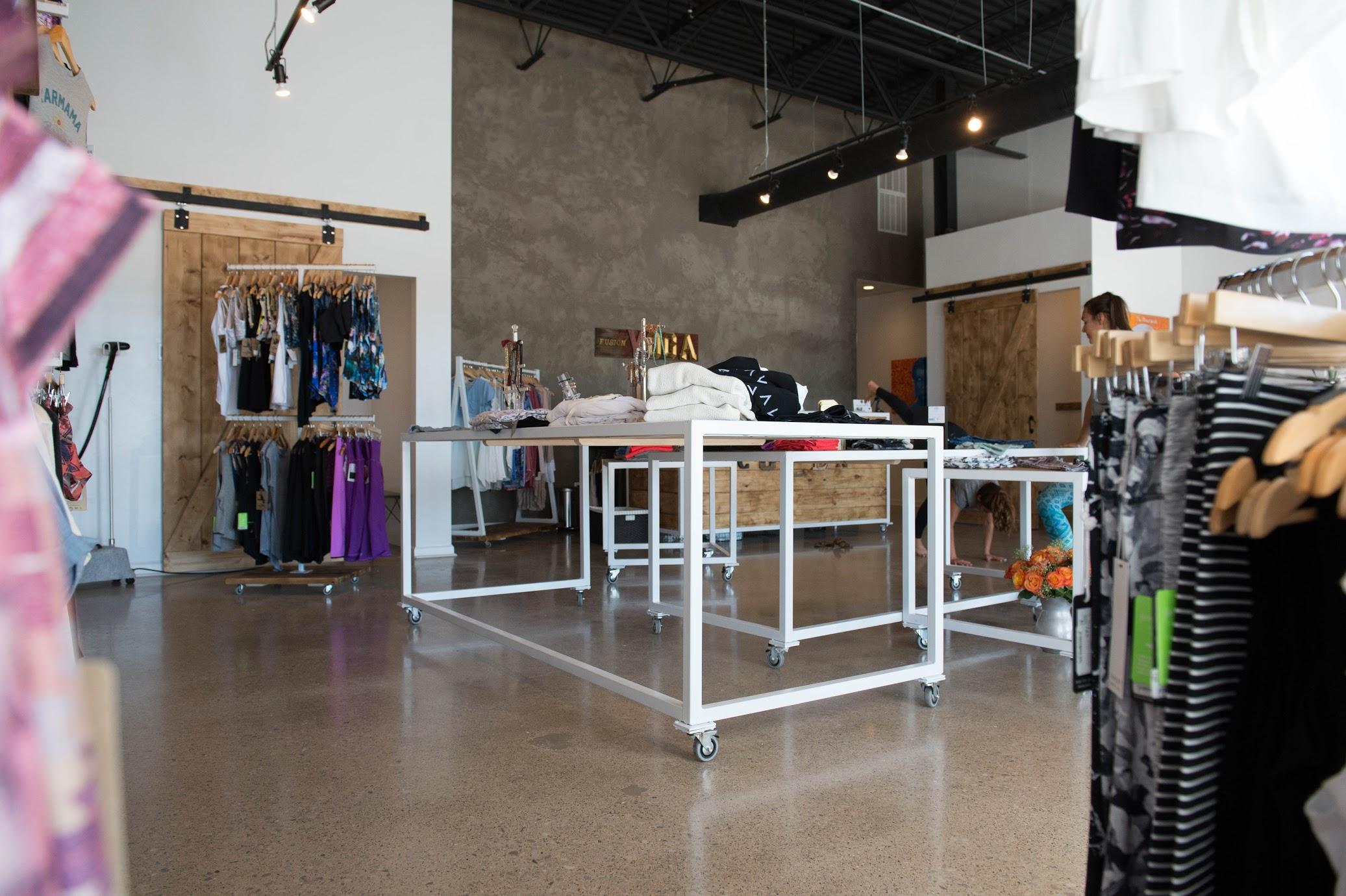 Fusion Yoga and Cuzen's Boutique