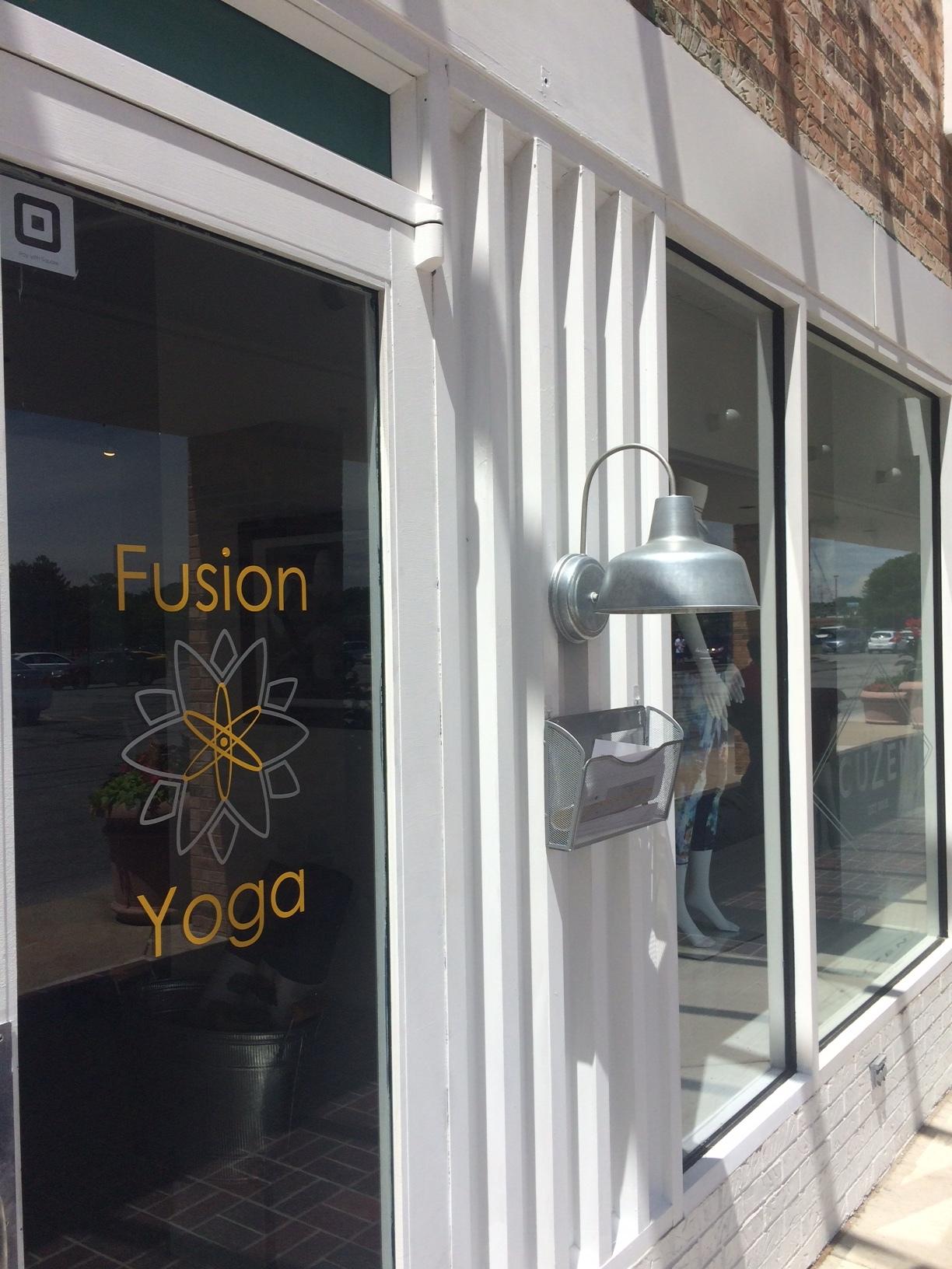 Fusion Yoga Entrance