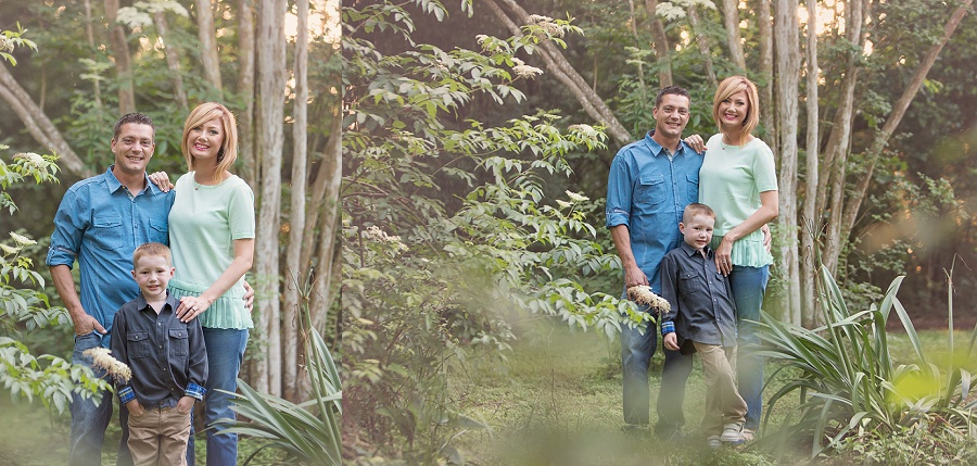 family-of-three-children-family-bond-mom-dad-portrait-nature-preserve-kleb-woods-tomball-tx-mini-session-giveaway-aqua-teal-sunset-golden-hour