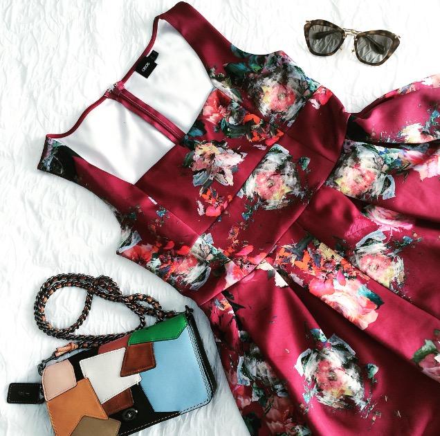 Dress:  ASOS ,  similar ones : Bag;  Coach (ON SALE) : Sunnies:  Miu Miu  : Shoes (not pictured):  ASOS