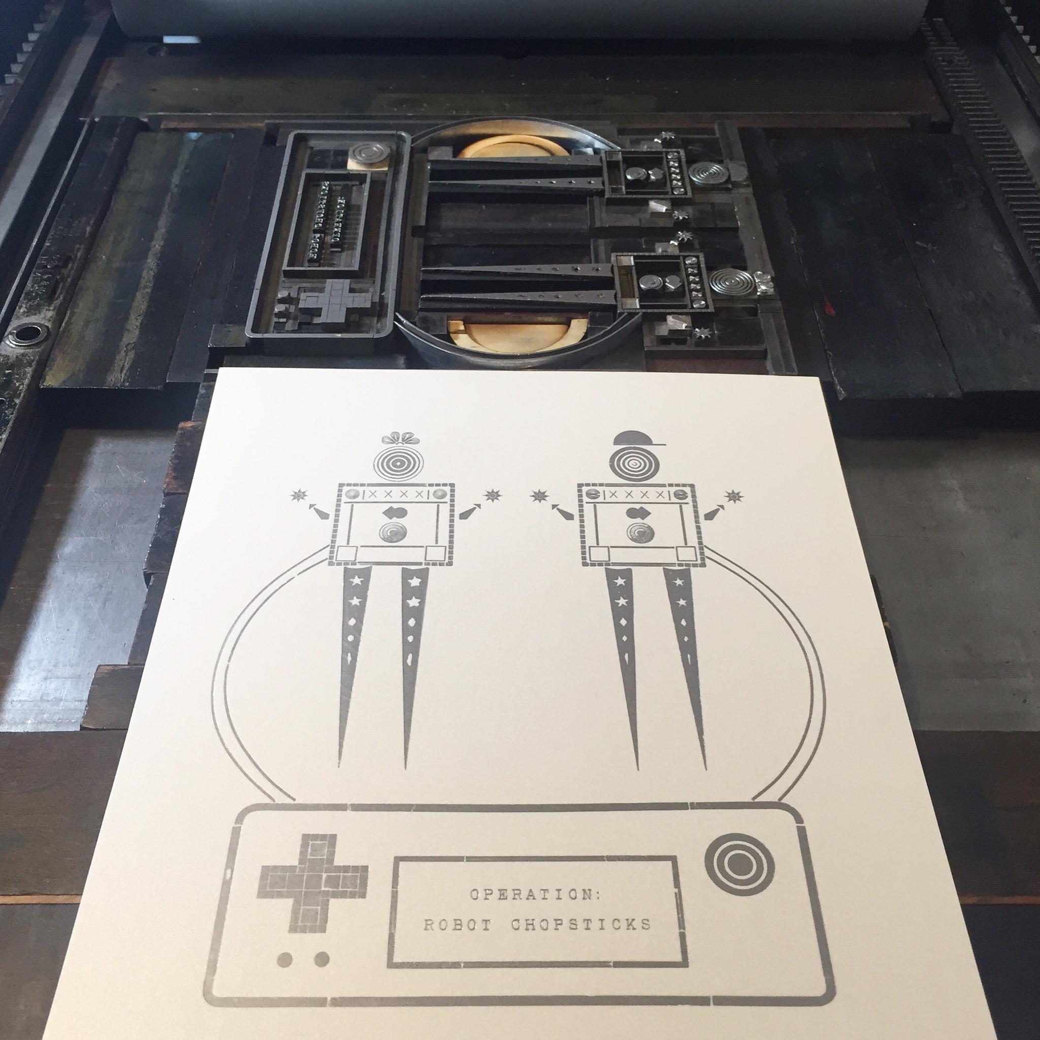 Operation: Robot Chopsticks