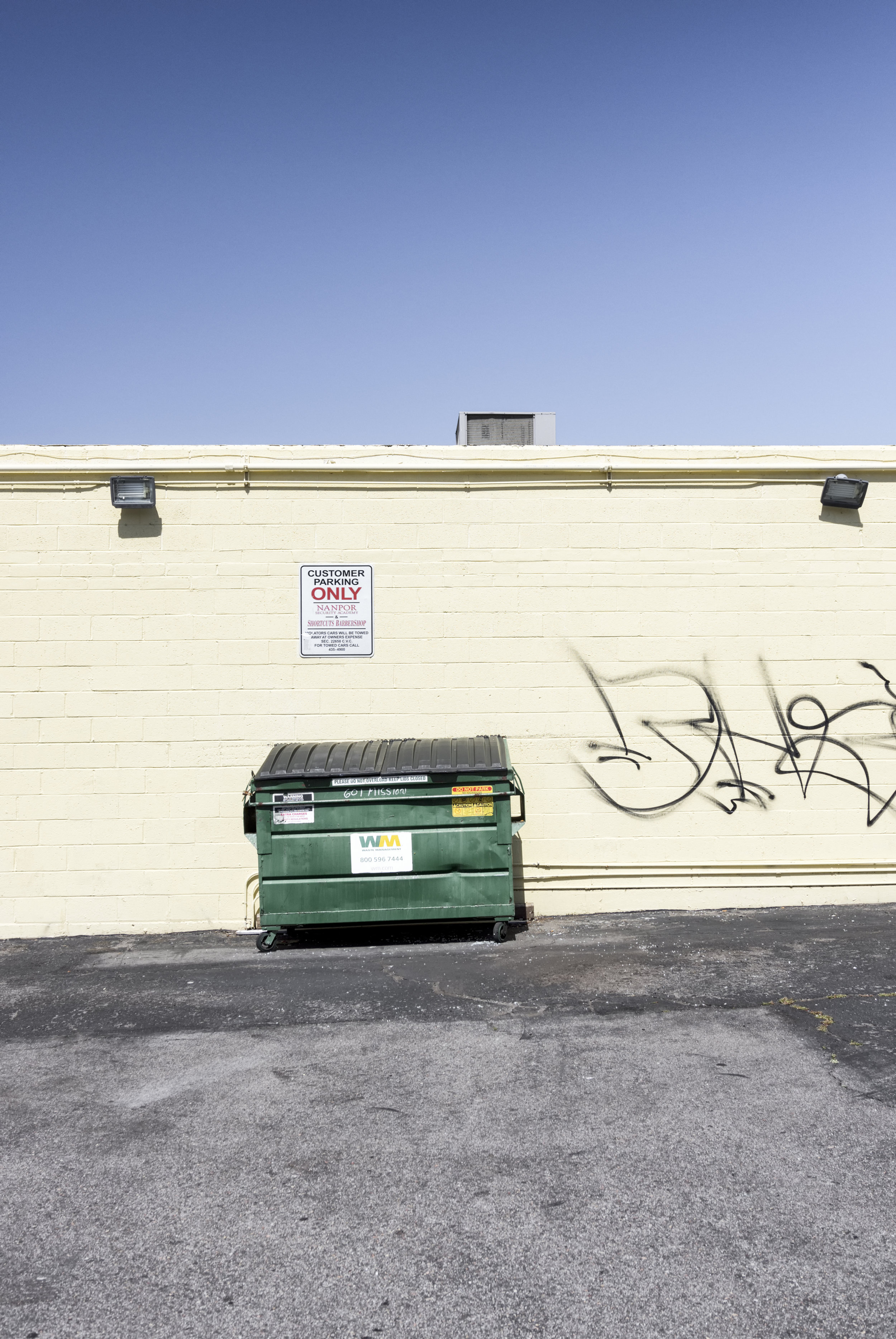 Green Dumpster