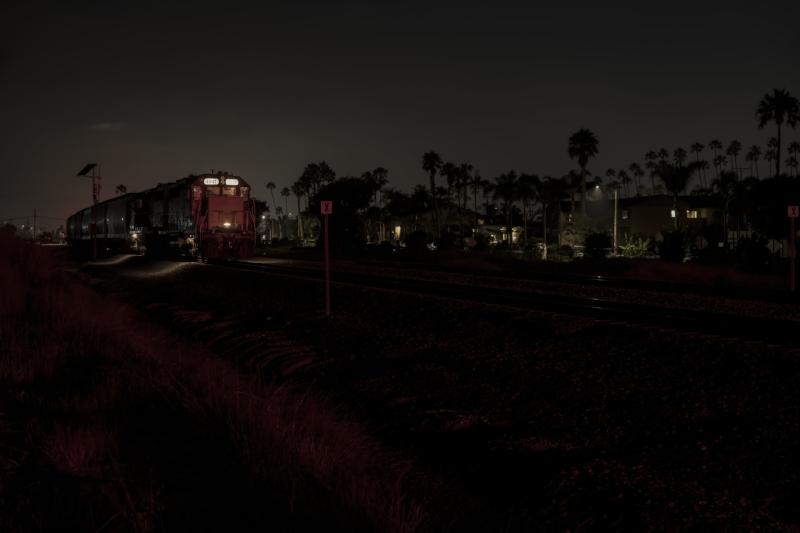 Waiting Freight Train