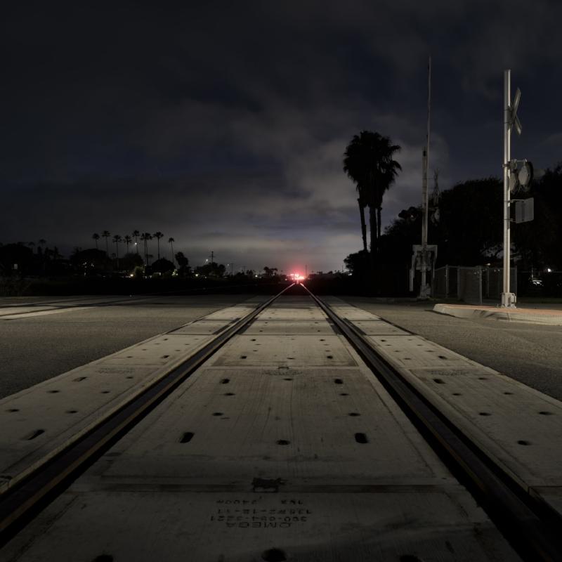 Cassidy St Railroad Crossing