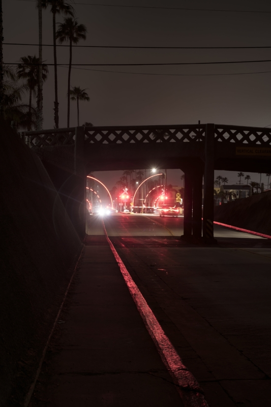 Closing Railroad Gates On Cassidy St