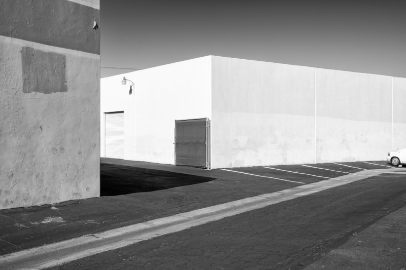 White Walls, White Car