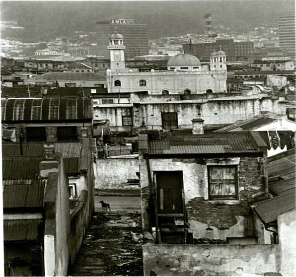 District Six toward Downtown