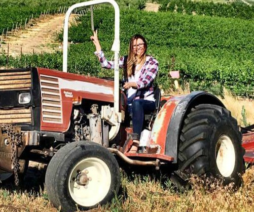 Christina Musto on Tractor close.jpg