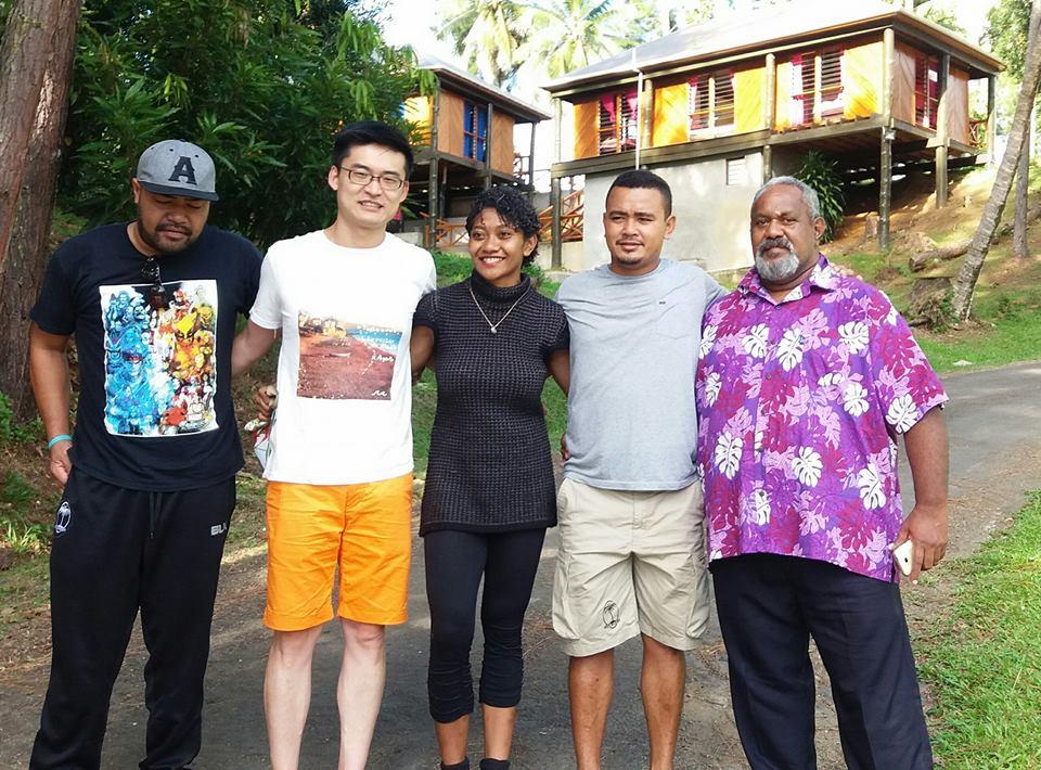 Ravuni, Frank, Ana, Sai and Sevu