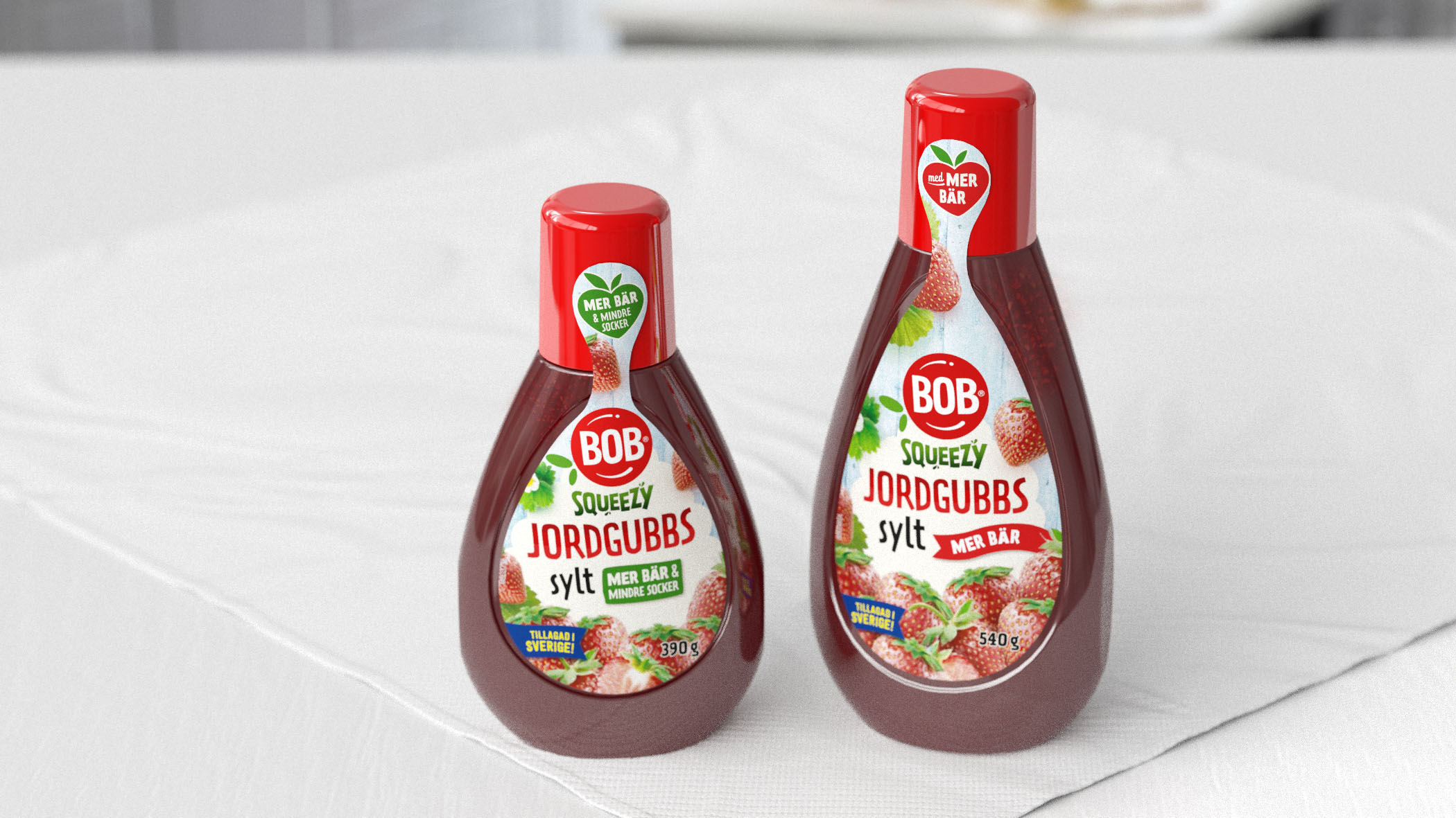 BOB squeezy package design